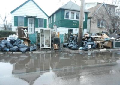 NY Staten Island Devastation
